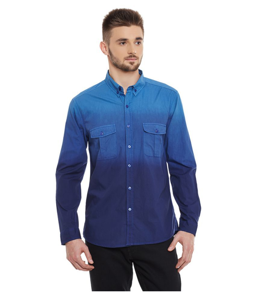 yepme blue casuals slim fit shirt buy yepme blue casuals. Black Bedroom Furniture Sets. Home Design Ideas