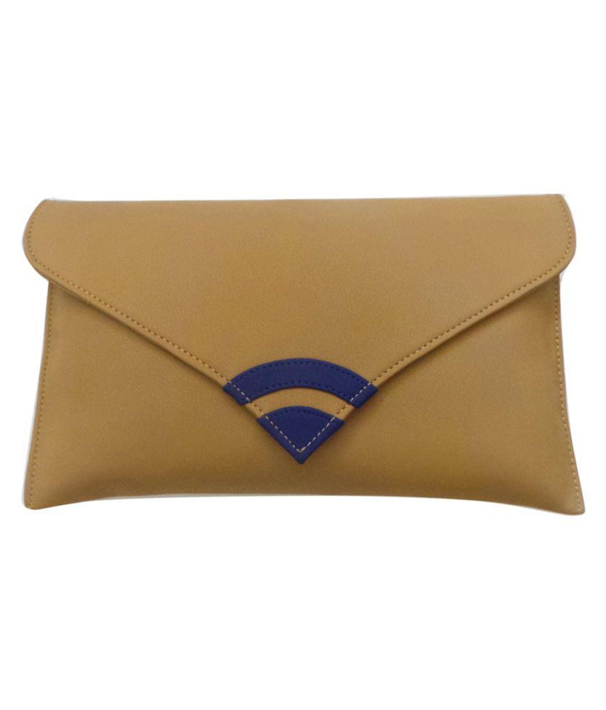 Bhamini Gold Fabric Wristlet