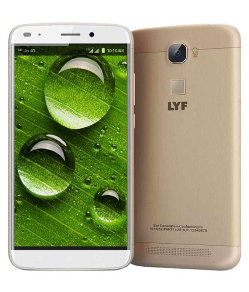 ... LYF Water 9 LS 5506 16GB Gold ...