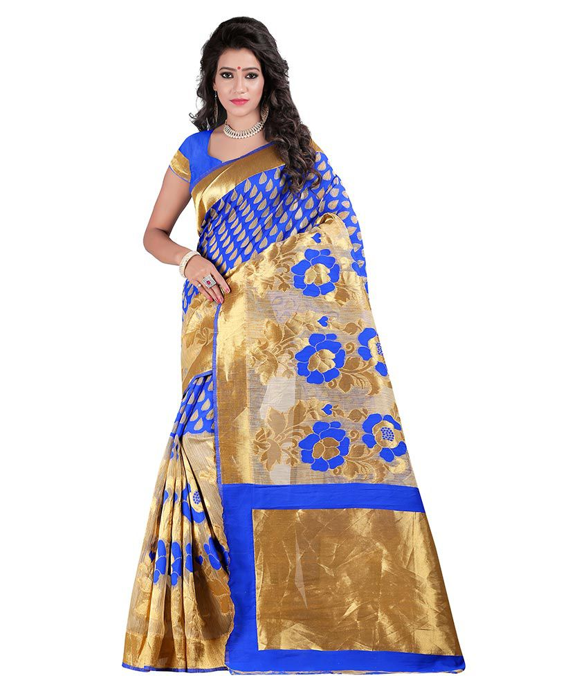 Just Fashion Multicoloured Banarasi Silk Saree