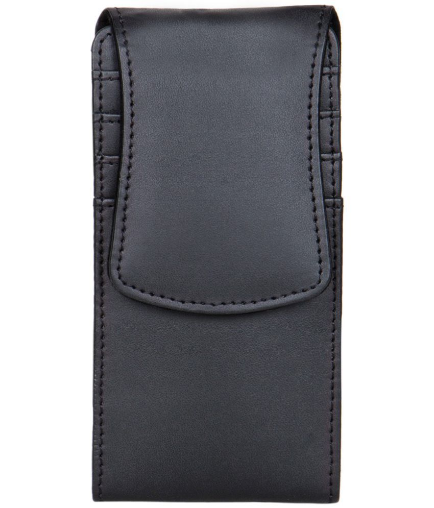 Micromax Canvas Nitro 2 Holster Cover by Senzoni - Black