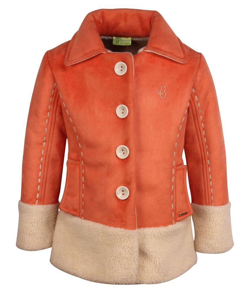 Cutecumber Partywear Heavy Winter Coat