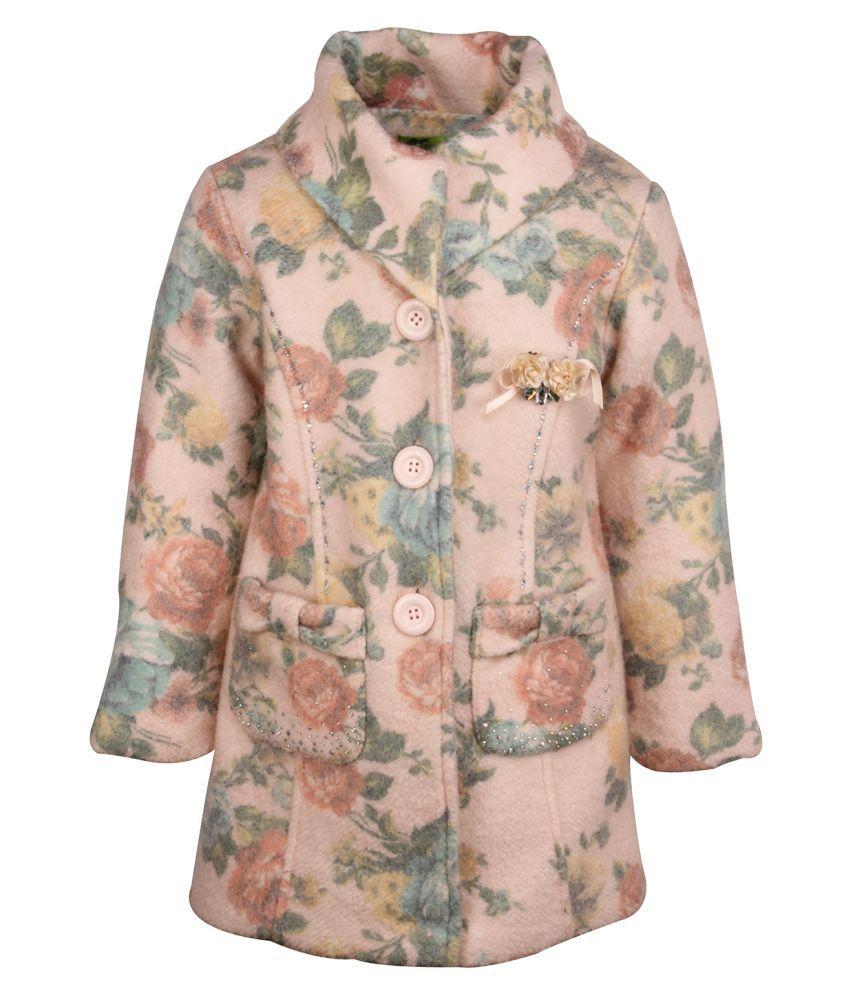 Cutecumber Peach Wollen Winter Coat