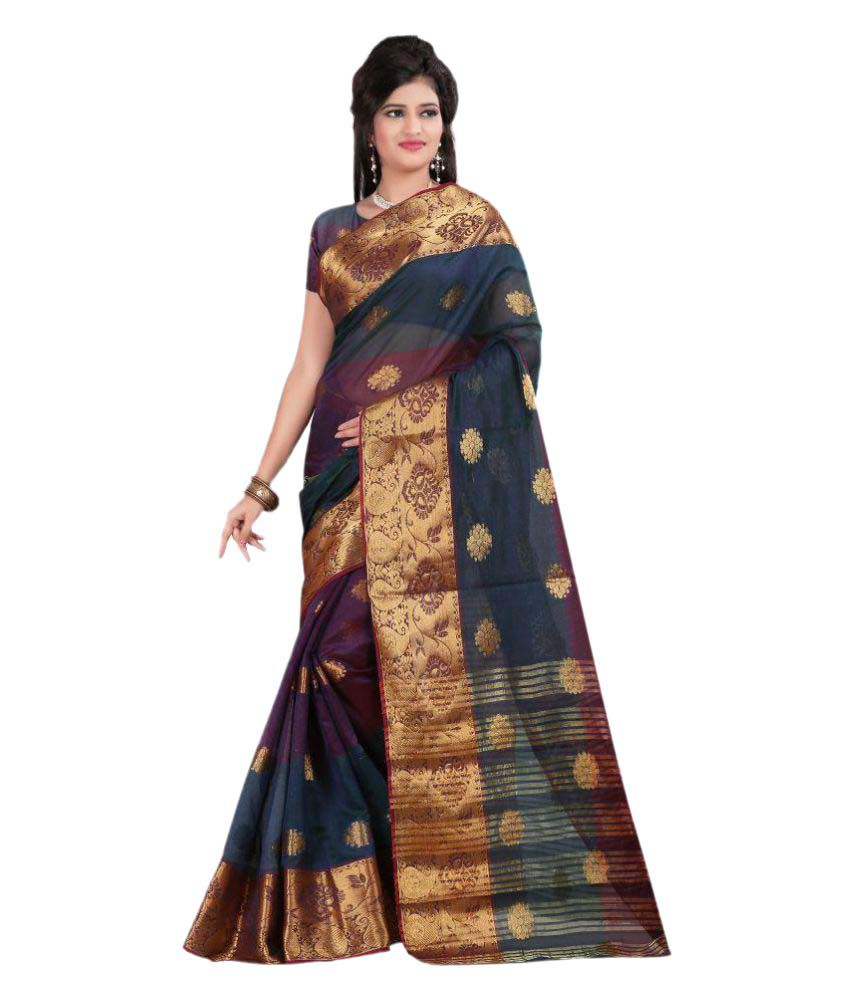 61f782a5b Just Fashion Multicoloured Banarasi Silk Saree available at SnapDeal for  Rs.949