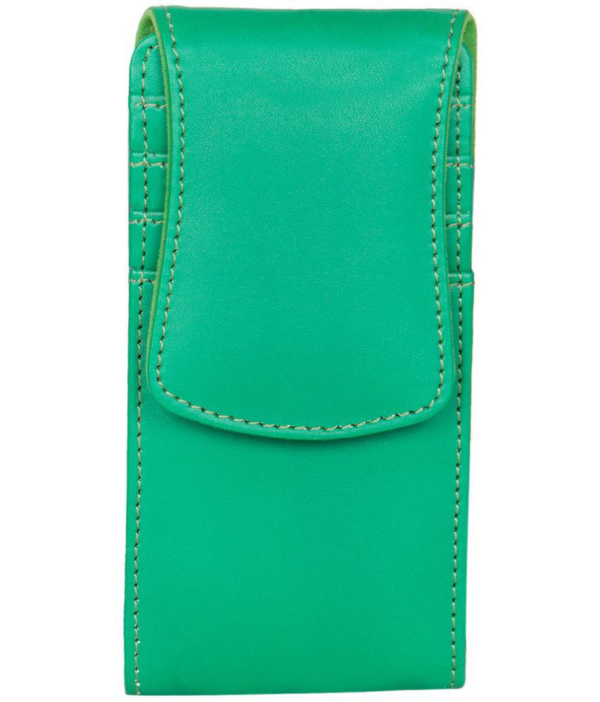 Karbonn A27 Plus Holster Cover by Senzoni - Green