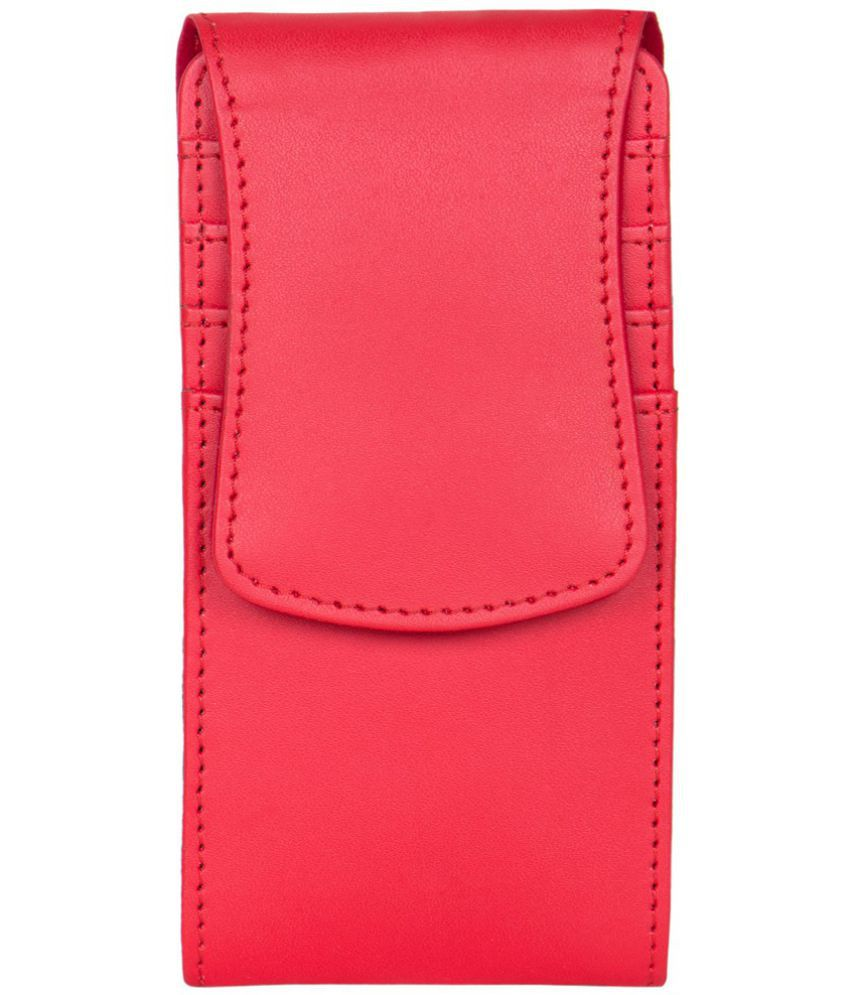 iBall 5h Quadro Holster Cover by Senzoni - Red