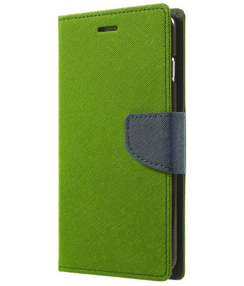 competitive price c33af 48390 Coolpad Note 5 Flip Cover by Knotyy - Green