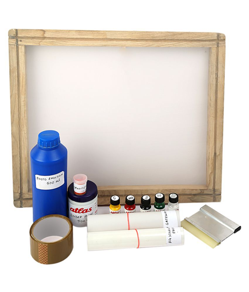 68538607d Designers Den Screen Printing Kit: Buy Online at Best Price in India -  Snapdeal