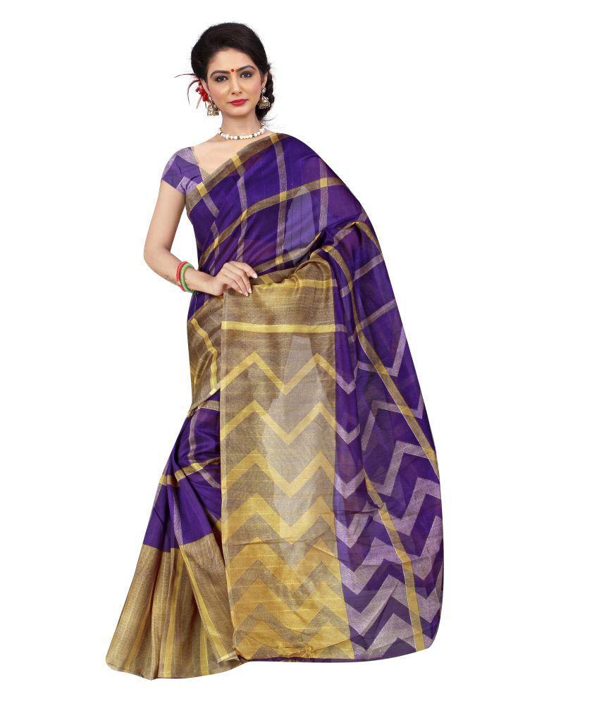 MahaMaya_Maya Blue Bhagalpuri Silk Saree