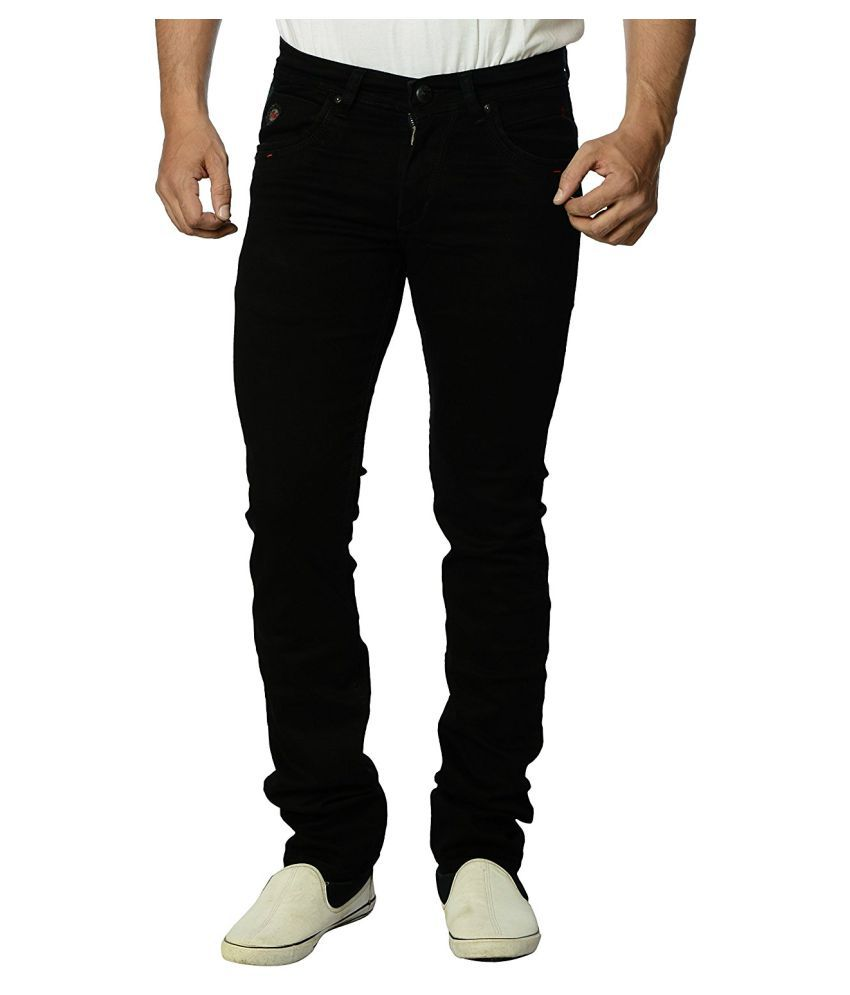 Eos Black Regular Fit Jeans