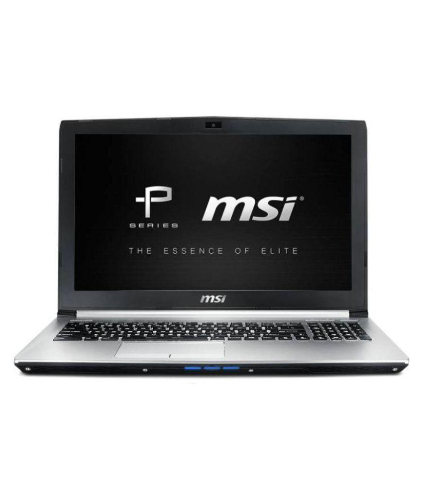 MSI PE-60 6QE Notebook 6700HQ (6th Gen Ci7(6700HQ)- 1TB HDD- 16GB RAM- 15.6inch€ Full HD- DOS- 2GB GTX960M- (Silver)