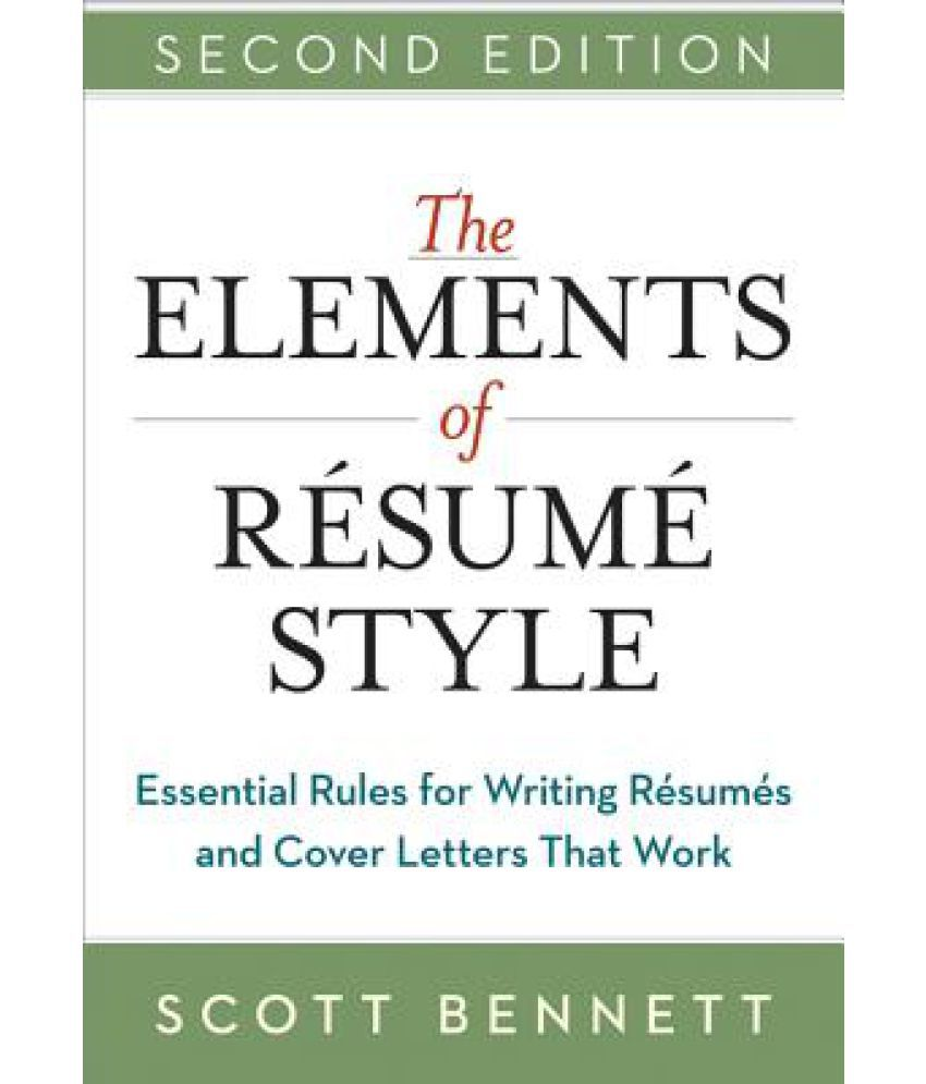 rules for a resumes