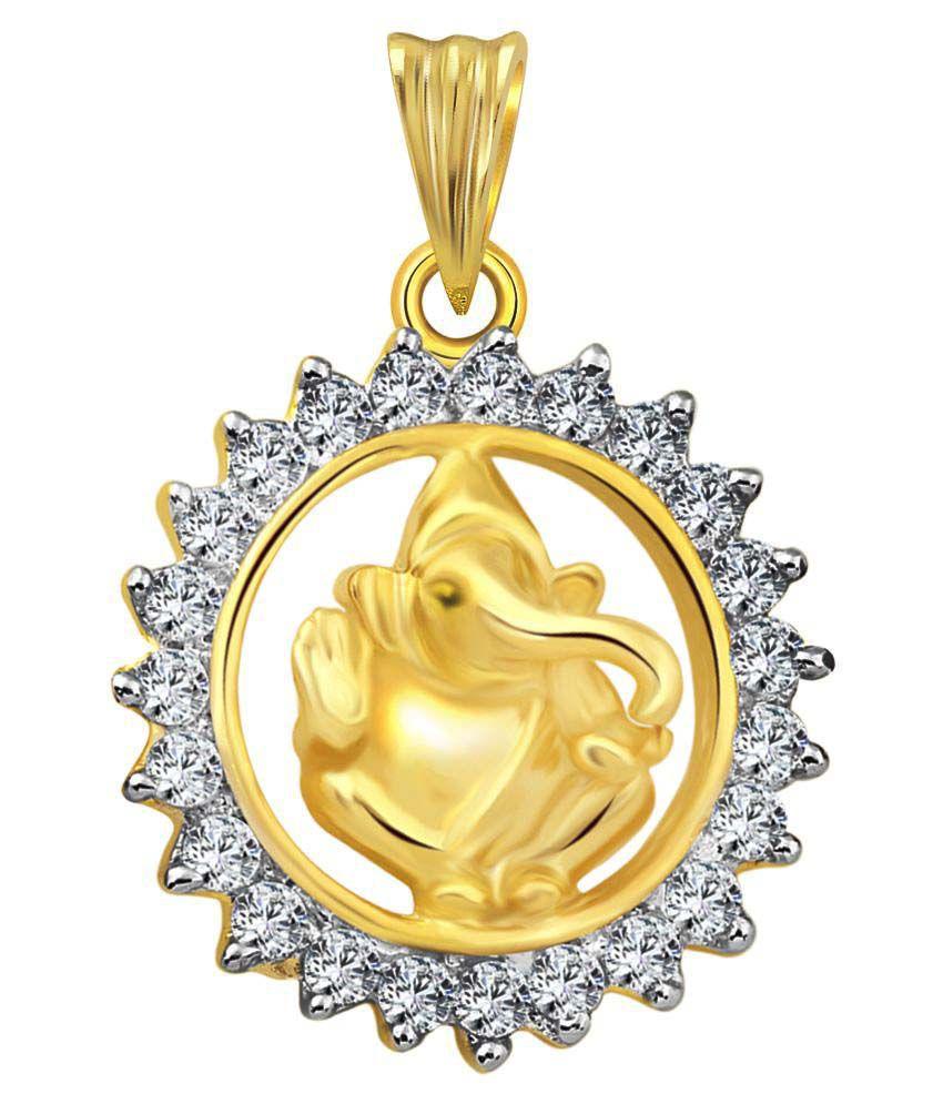 Vighnaharta Golden Pendant