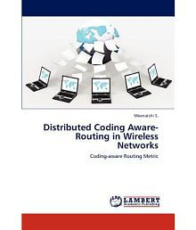 Distributed Coding Aware-Routing in Wireless Networks
