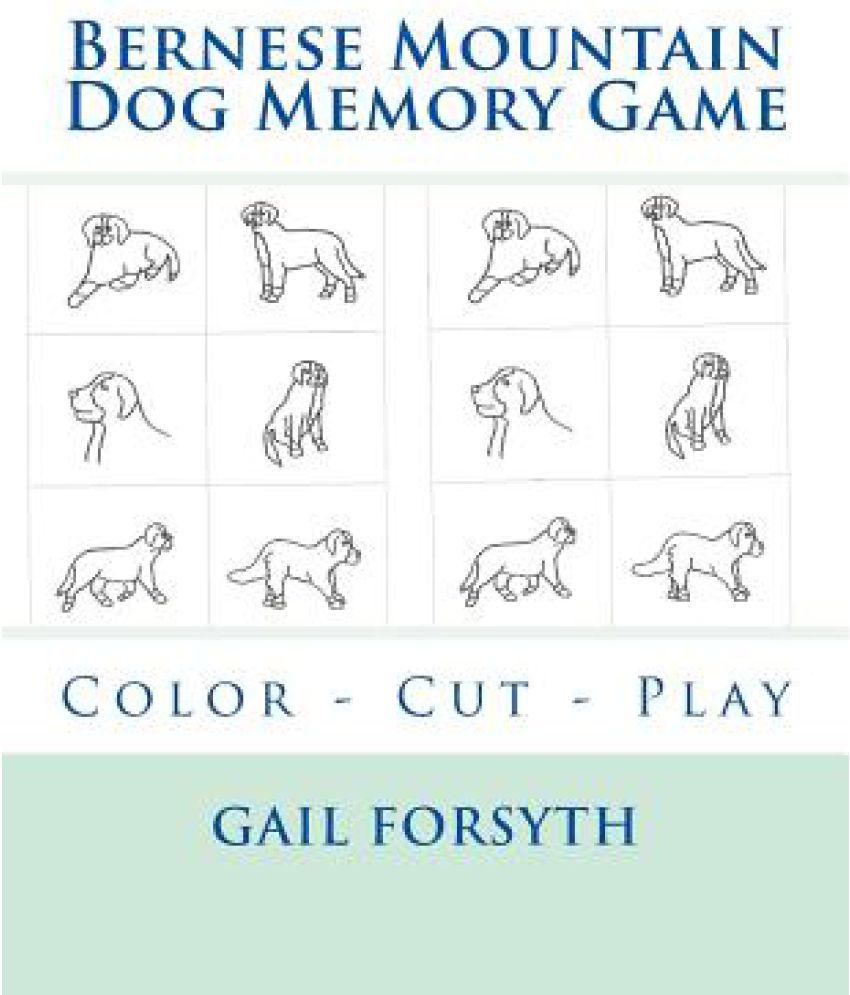 Bernese Mountain Dog Memory Game SDL 1 70f26