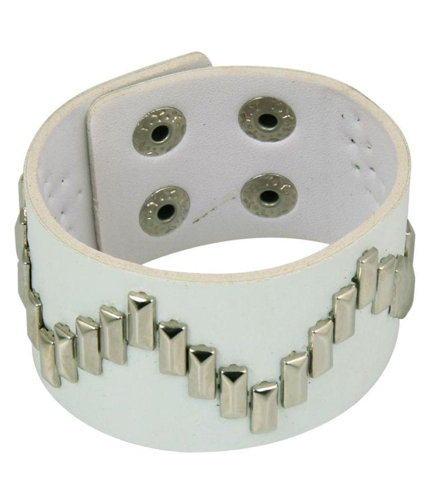 Jewelizer Silver Alloy Bracelet
