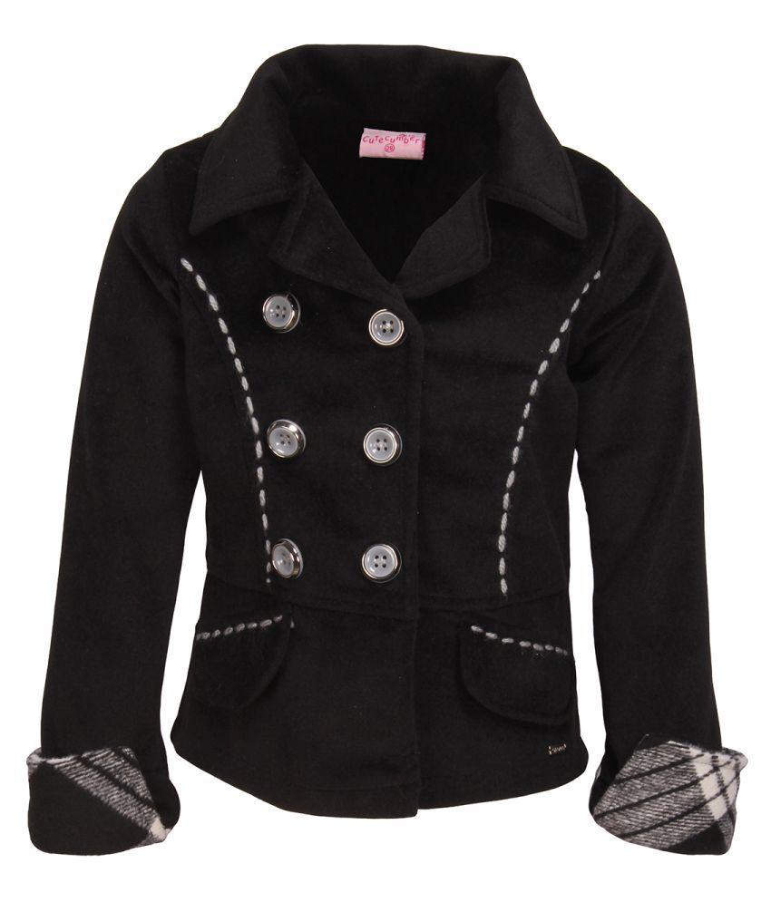 Cutecumber Black Coat