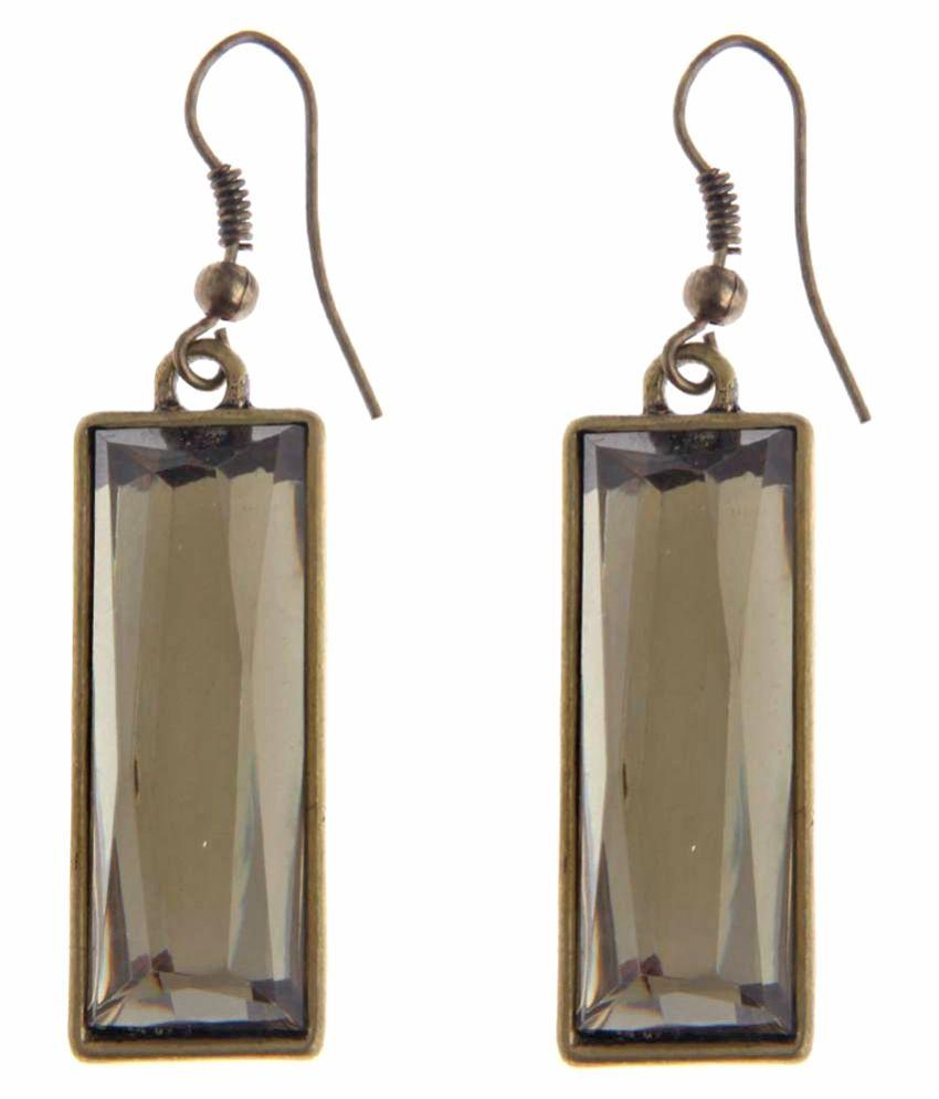 Jewelizer Golden Hanging Earrings