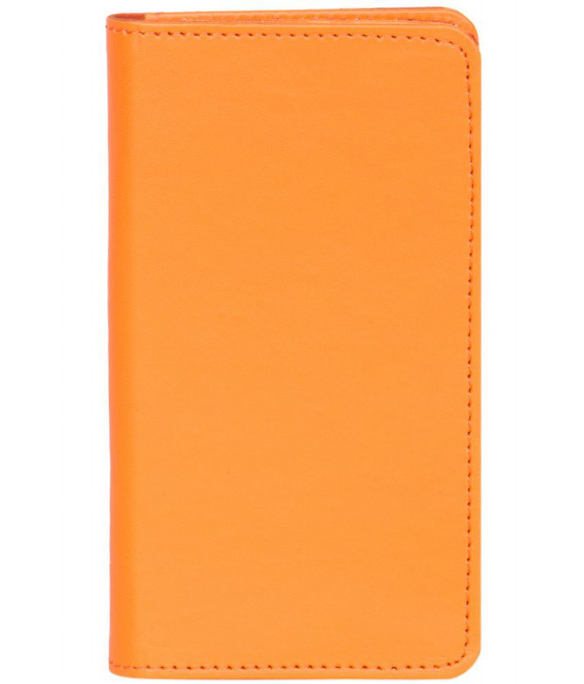 Karbonn K75 Holster Cover by Senzoni - Orange