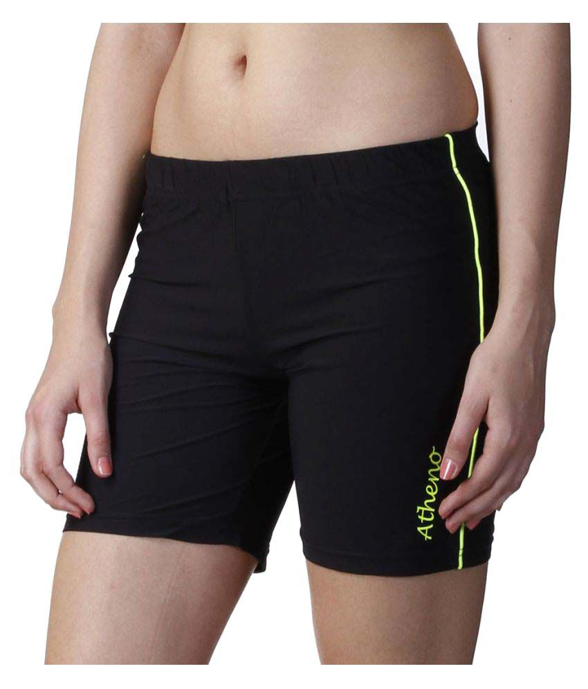 Atheno Womens Sportslycra Gym Shorts
