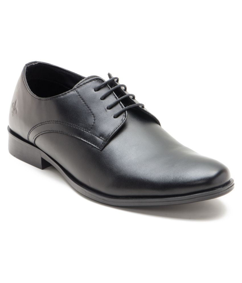 28663c136651cc Bond Street By Red Tape Black Derby Formal Shoes Price in India- Buy Bond  Street By Red Tape Black Derby Formal Shoes Online at Snapdeal