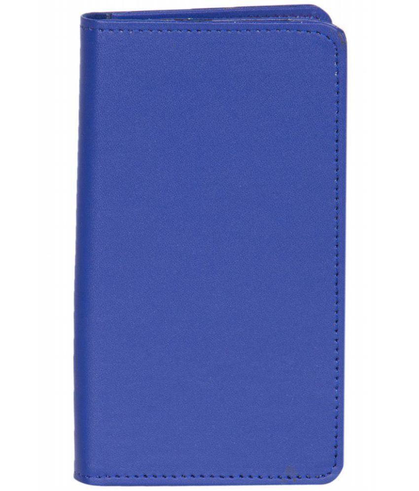 Intex Cloud Z6 Holster Cover by Senzoni - Blue