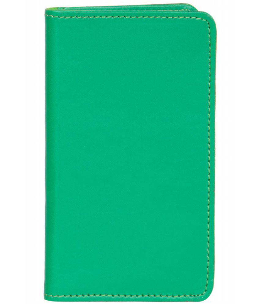 Karbonn A10 Holster Cover by Senzoni - Green