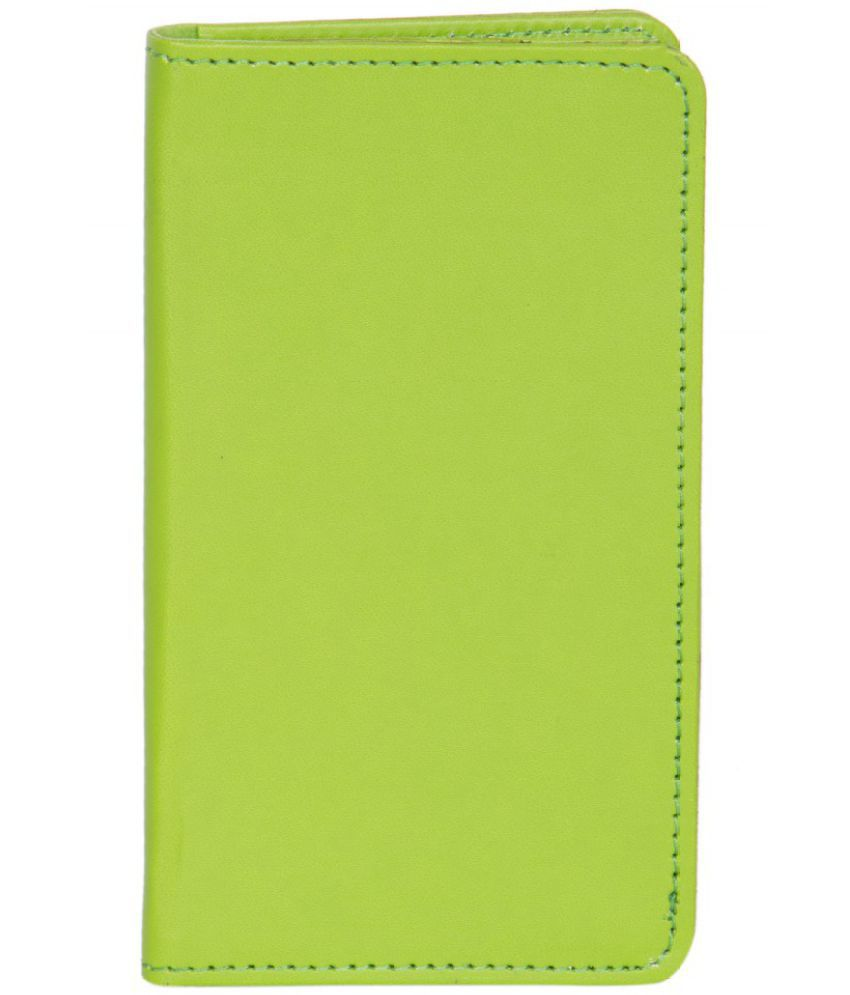 Micromax Canvas 4 Plus A315 Holster Cover by Senzoni - Green