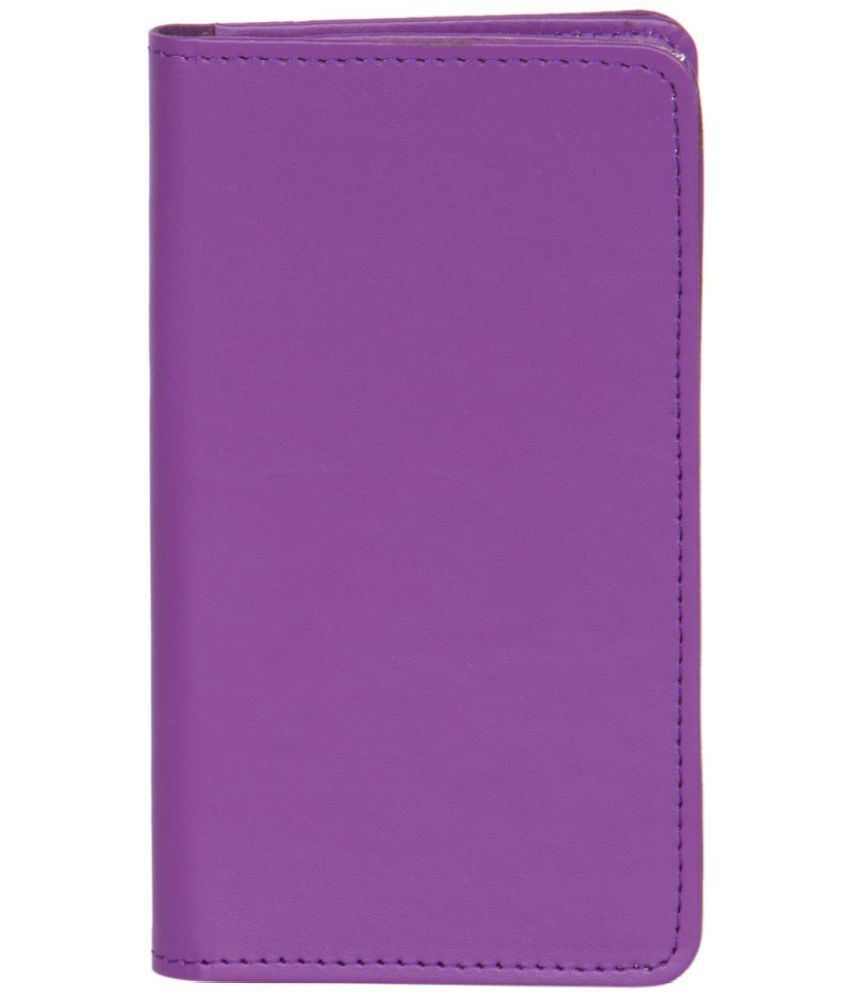 Micromax X1I+ ULTRA Holster Cover by Senzoni - Purple