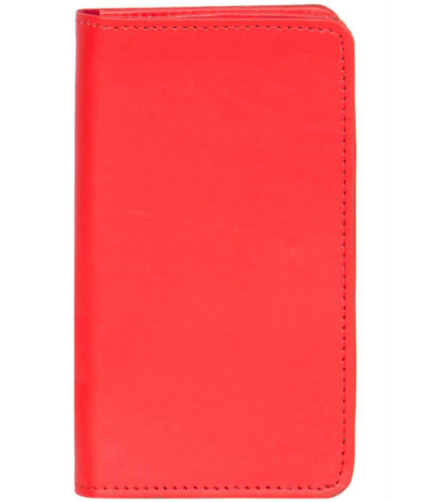 Celkon A119Q Holster Cover by Senzoni - Red