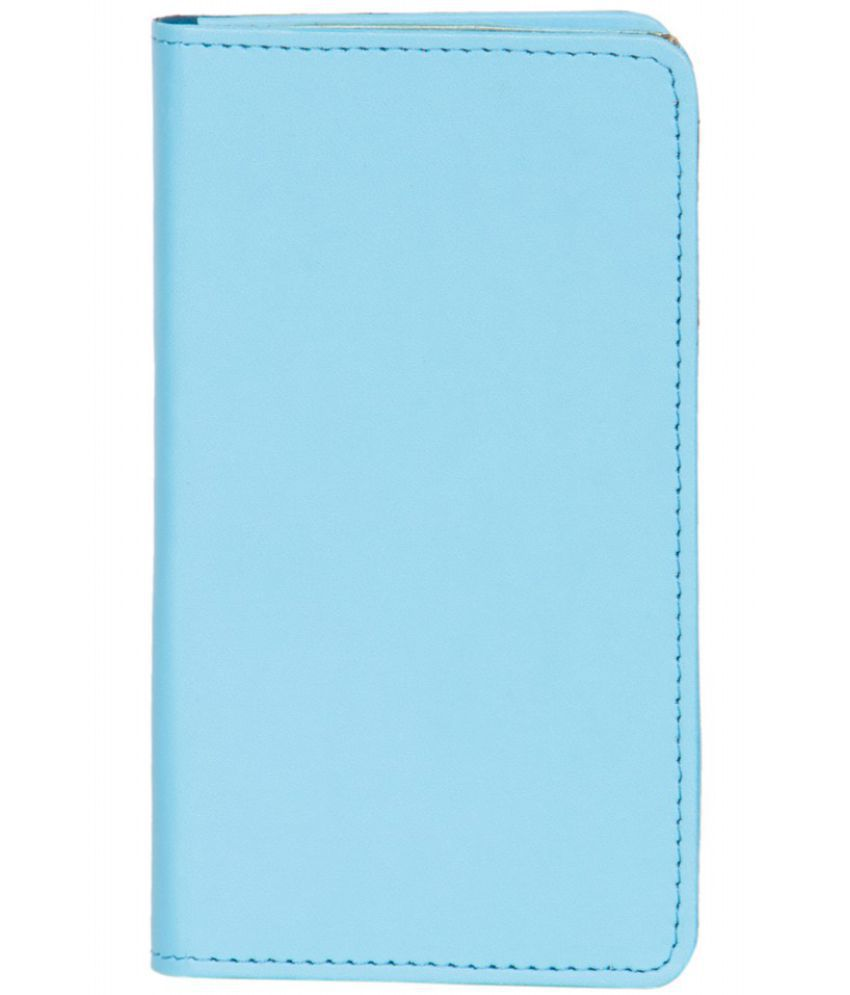 Karbonn A81 Holster Cover by Senzoni - Blue