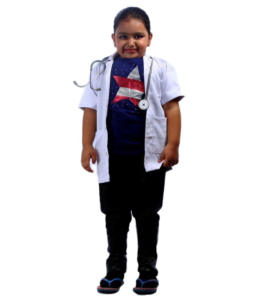 71e2224aee3d6 SBD White Uniform Doctor Cosplay Fancy Dress Costume For Kids Unisex - Buy  SBD White Uniform Doctor Cosplay Fancy Dress Costume For Kids Unisex Online  at ...