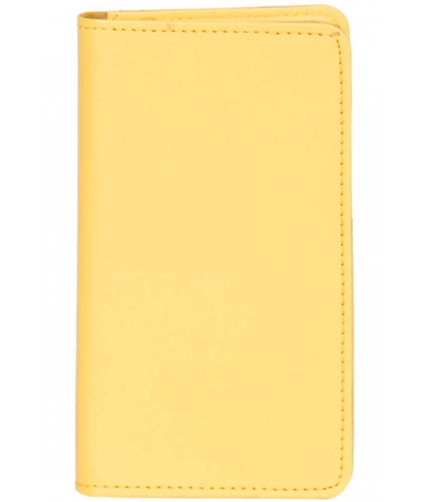 Micromax Canvas Selfie LensQ345 Holster Cover by Senzoni - Yellow