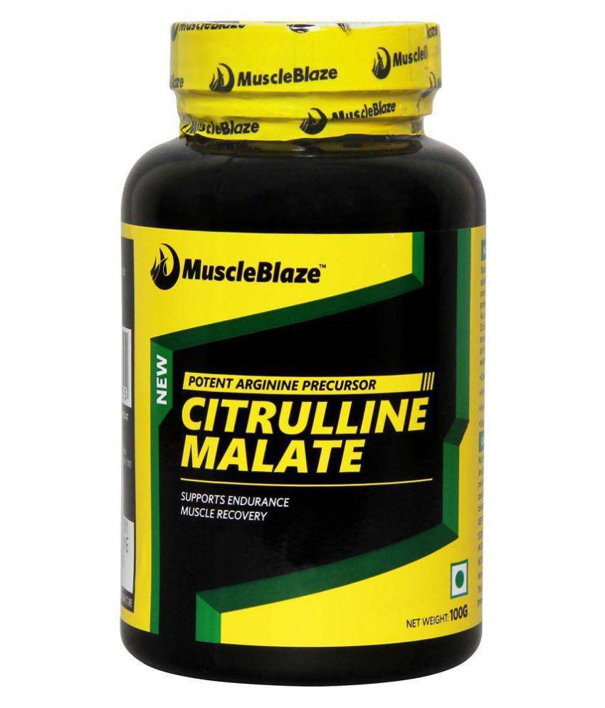 Citrulline malate india