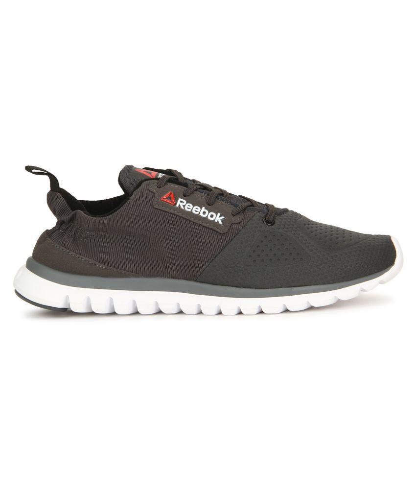10cd48a41 Reebok Sublite Aim 2.0 Black Running Shoes - Buy Reebok Sublite Aim ...