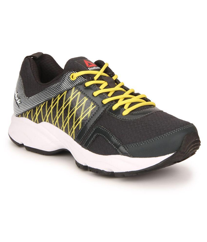 Reebok SMOOTH FLYER Black Running Shoes