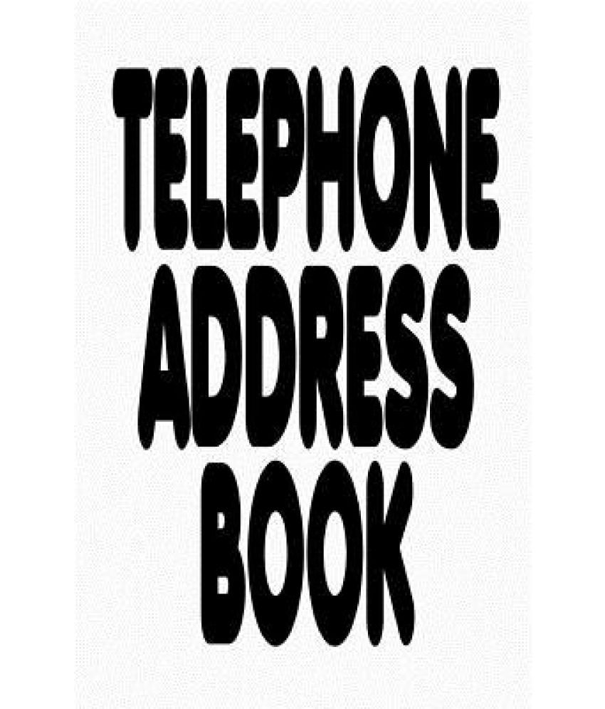 telephone address book buy telephone address book online at low