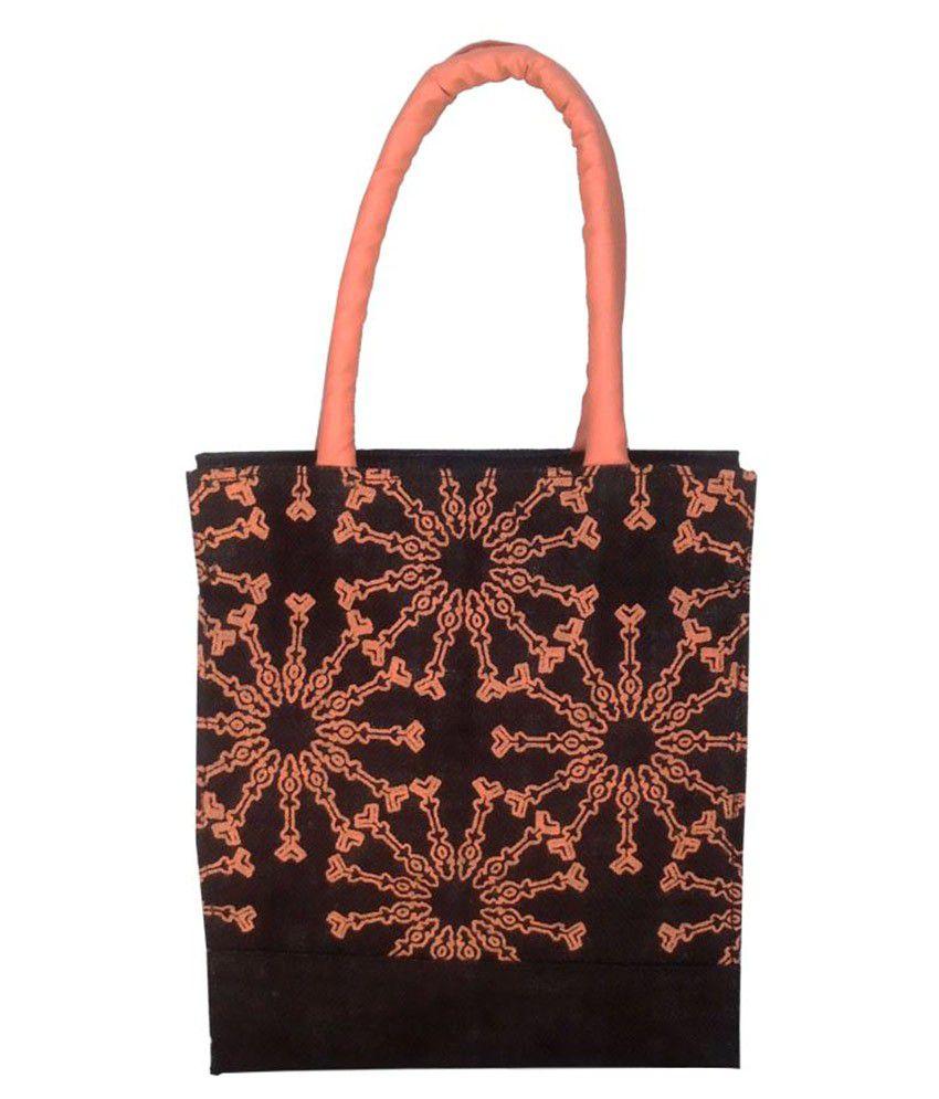 Foonty Black Lunch Bags - 1 Pc