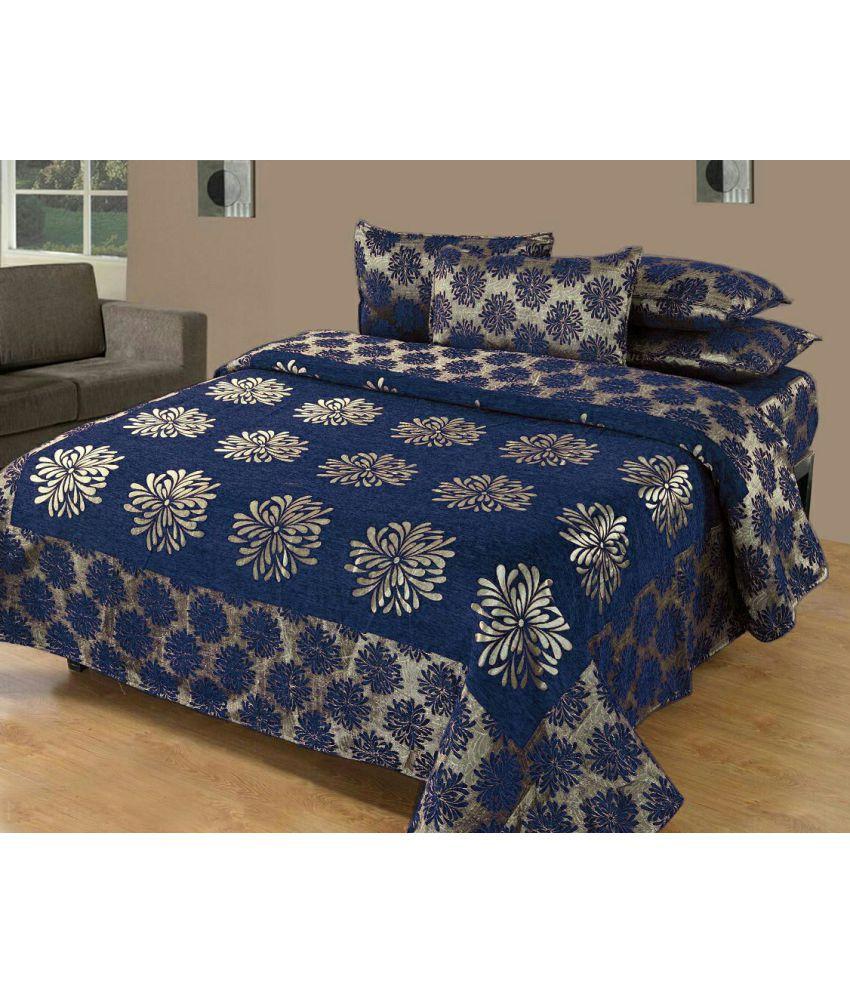 Srb Double Velvet Bed Sheet