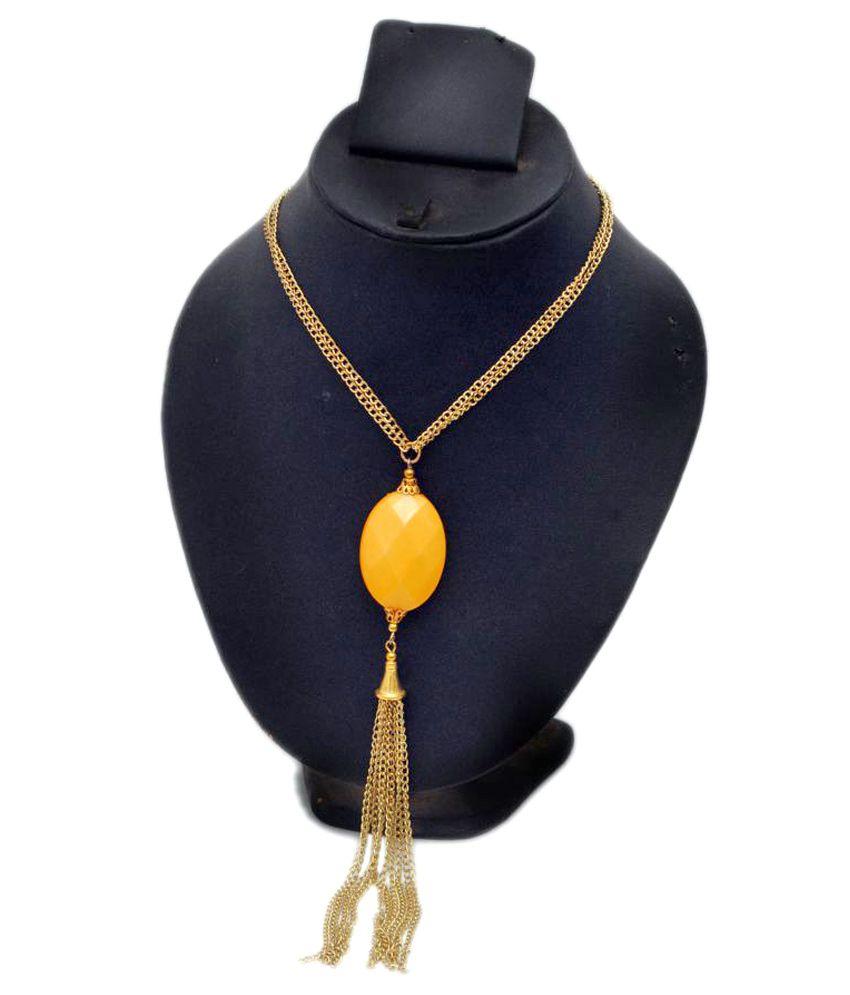 Ayan Creation Golden Necklace