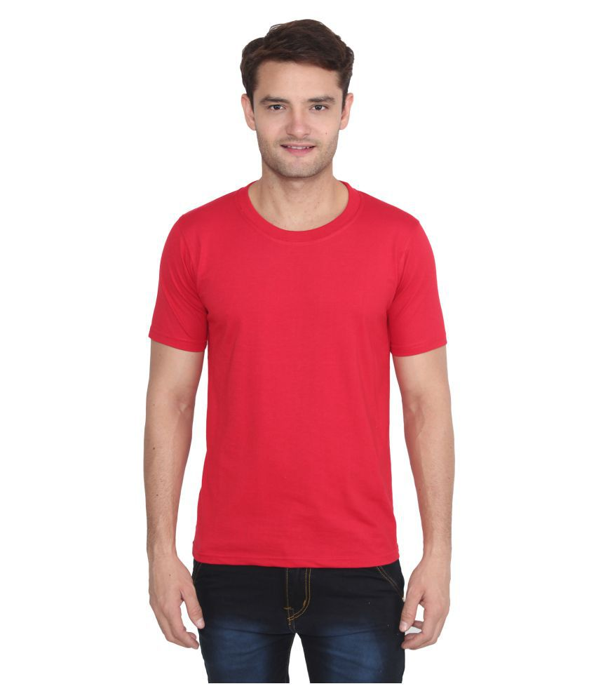 Attree Red Round T-Shirt