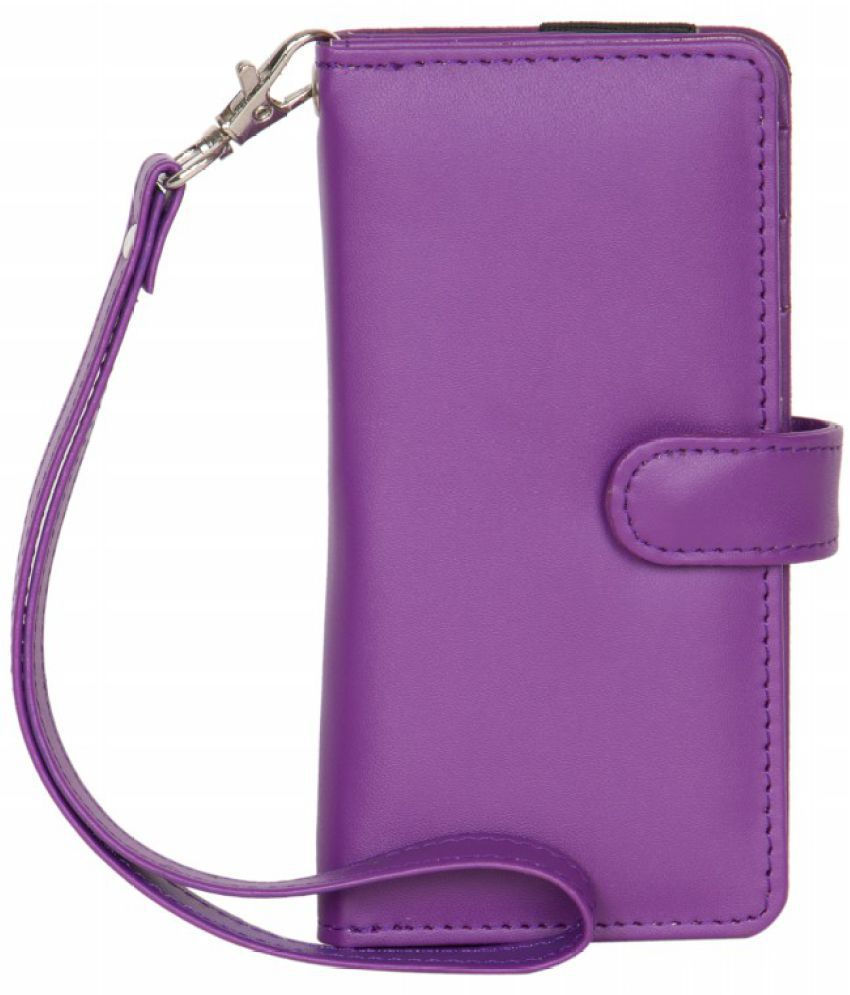 Micromax X097 Holster Cover by Senzoni - Purple