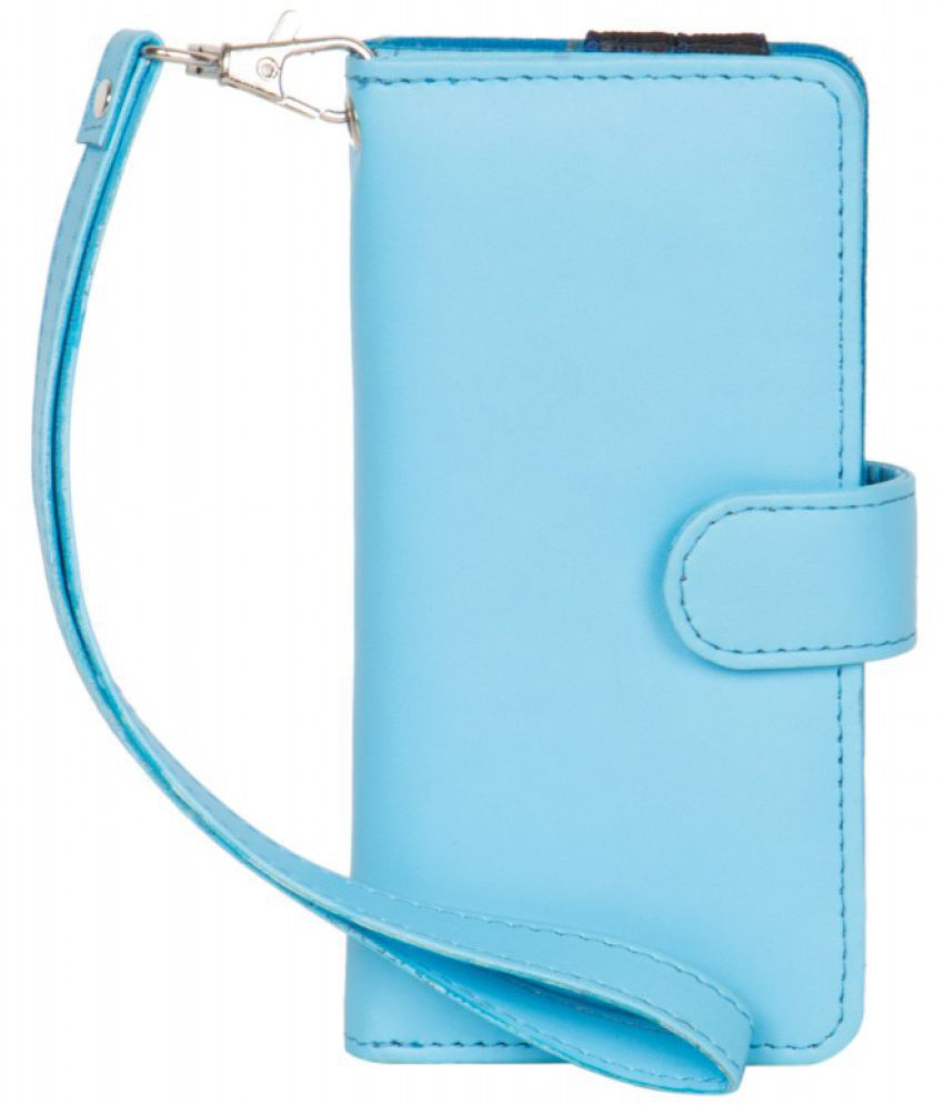 Karbonn A35 Holster Cover by Senzoni - Blue