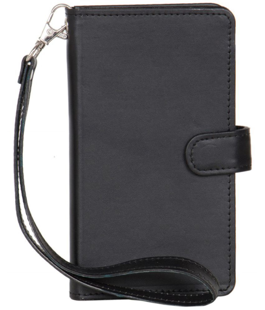 Celkon Signature Pride A115 Holster Cover by Senzoni - Black