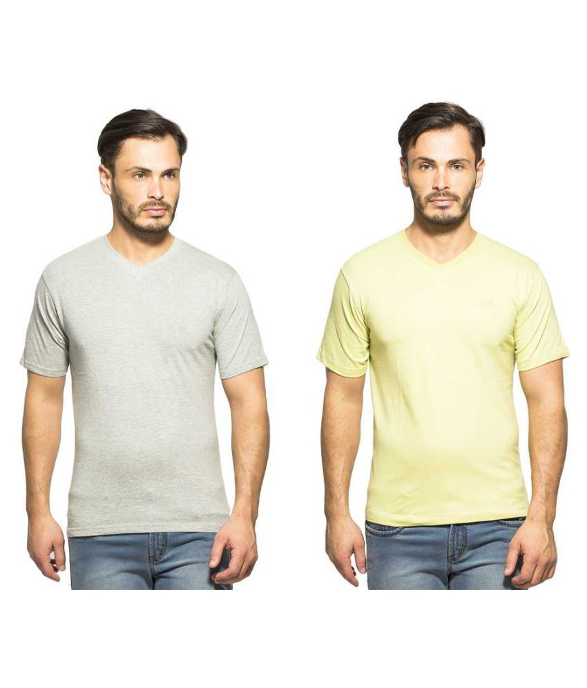 Clifton Multi Round T-Shirt Pack of 2