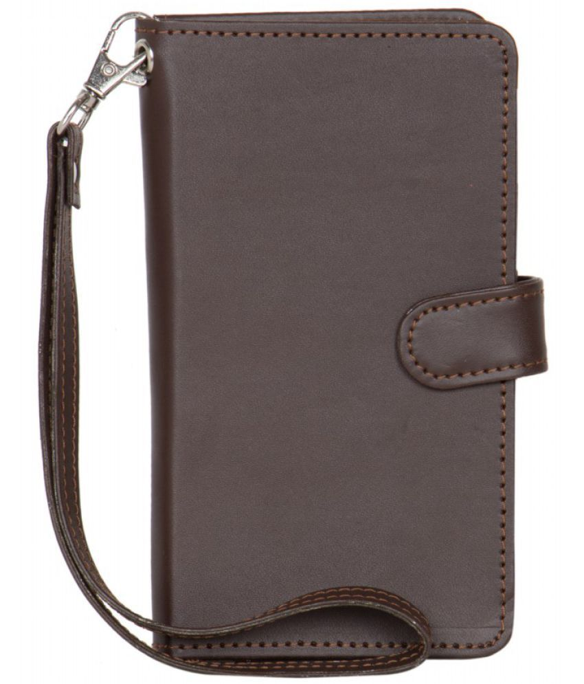 Alcatel Onetouch Flash Holster Cover by Senzoni - Brown