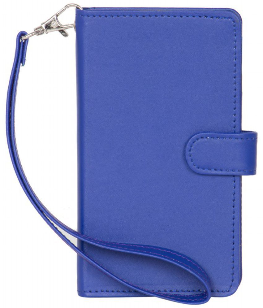 Lenovo A6000 Plus Holster Cover by Senzoni - Blue