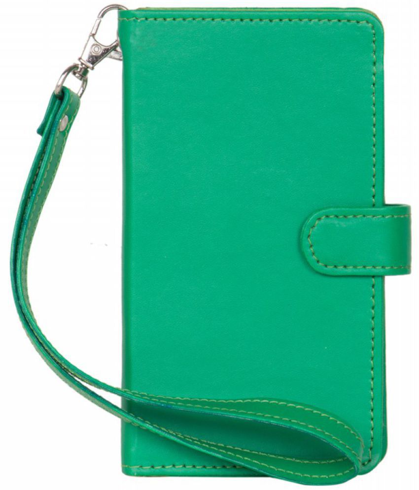 Micromax Bolt A58 Holster Cover by Senzoni - Green