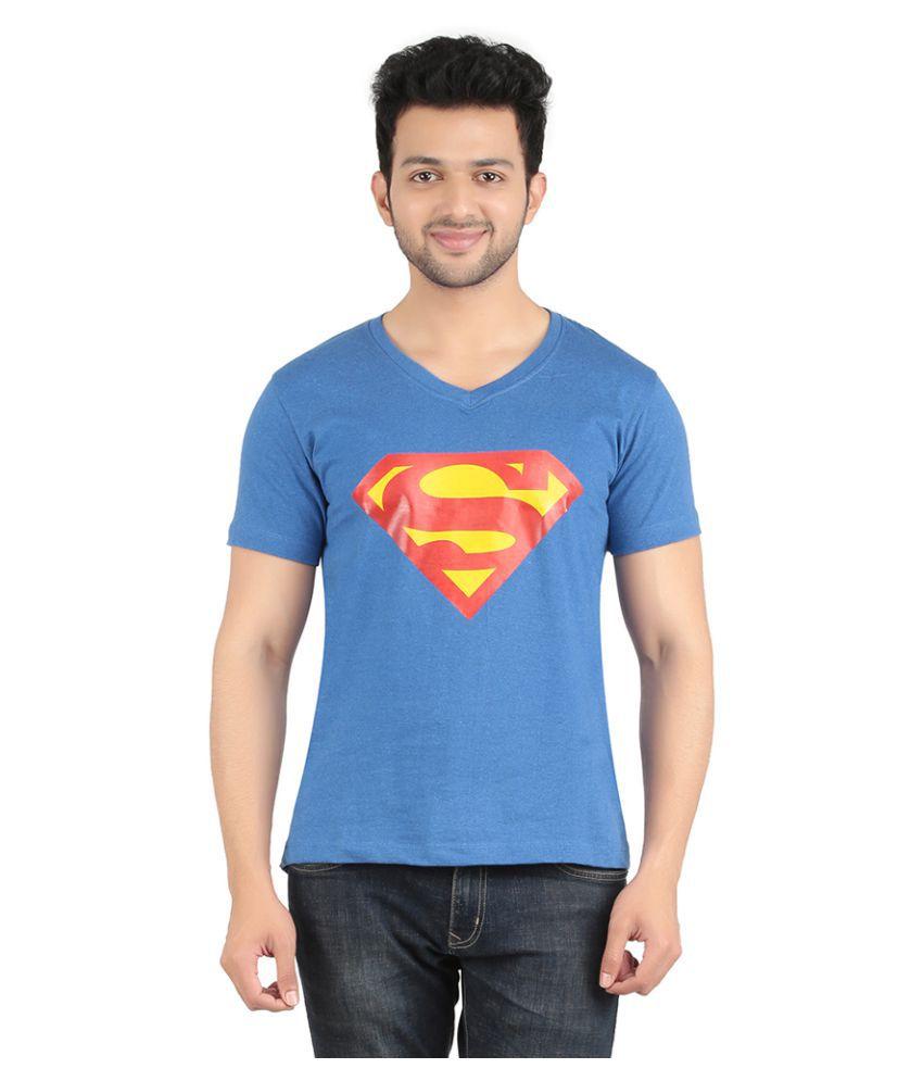 Indian Royals Blue V-Neck T-Shirt