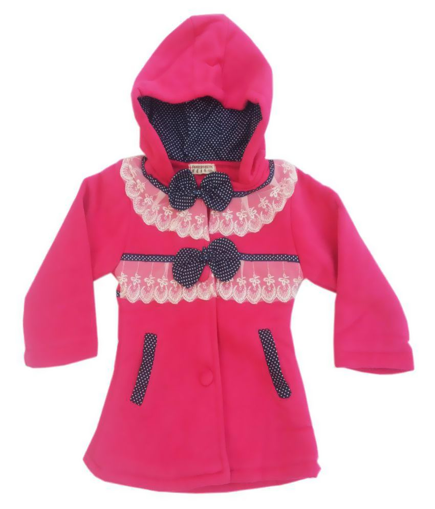 Kuddle Kids Pink Winter Coat for Girls